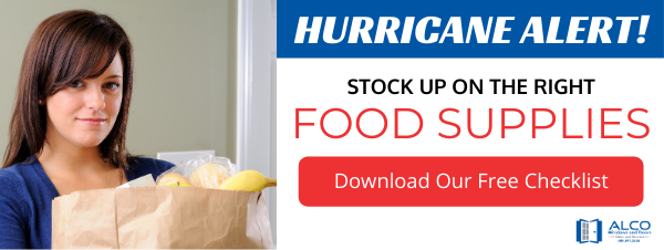 Hurricane Essentials Checklist Ad