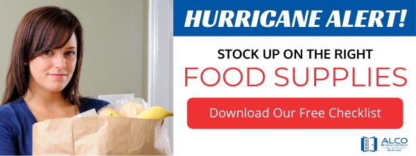Hurricane Essentials Checklist Ad